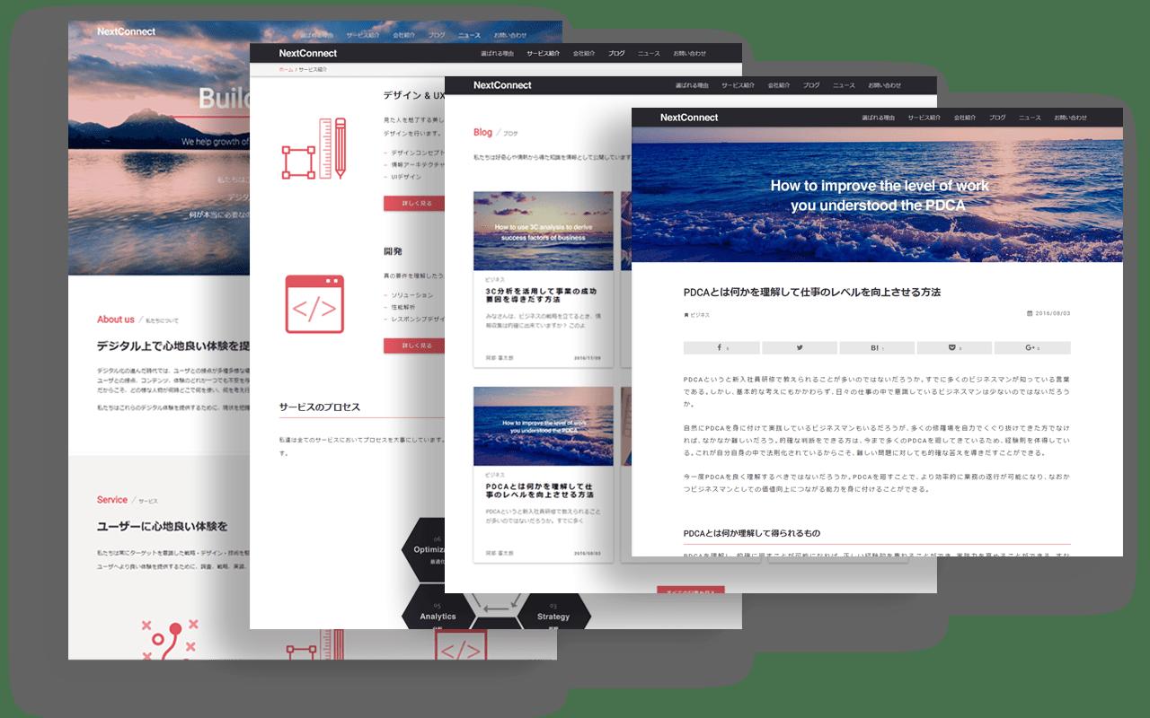 NextConnect Website